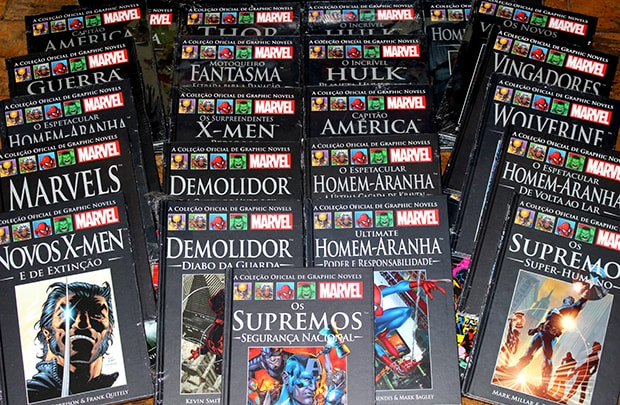 Salvat | Guia completo com todas edições da coleção de HQs da editora