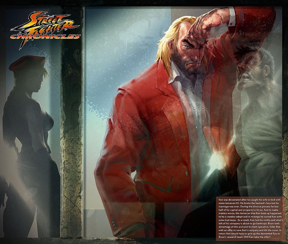 Street Fighter | Como seria a vida de Ryu, Ken e Chun-li após a aposentadoria?