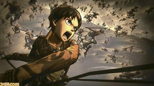 Ataque dos Titãs – Shingeki no Kyojin | Primeiros screenshoots do jogo são disponibilizado