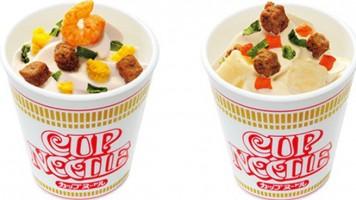 WTF Japão | Cup Noodles lança novo produto feito com sorvete