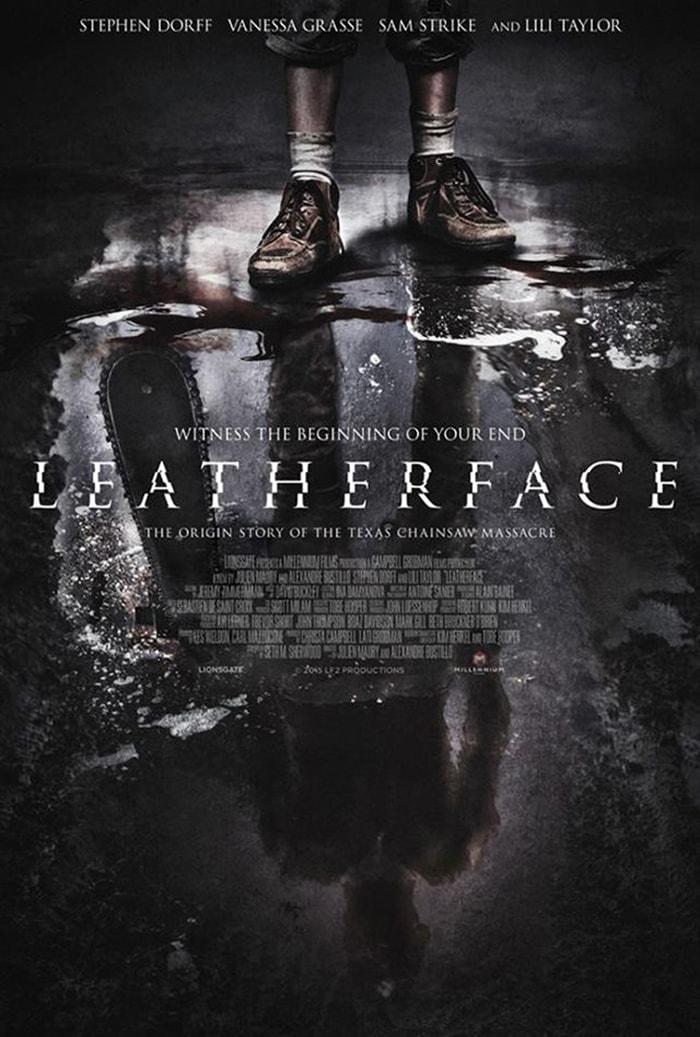 Leatherface  Prequel de O Massacre da Serra Elétrica (1988) ganha novo pôster oficial