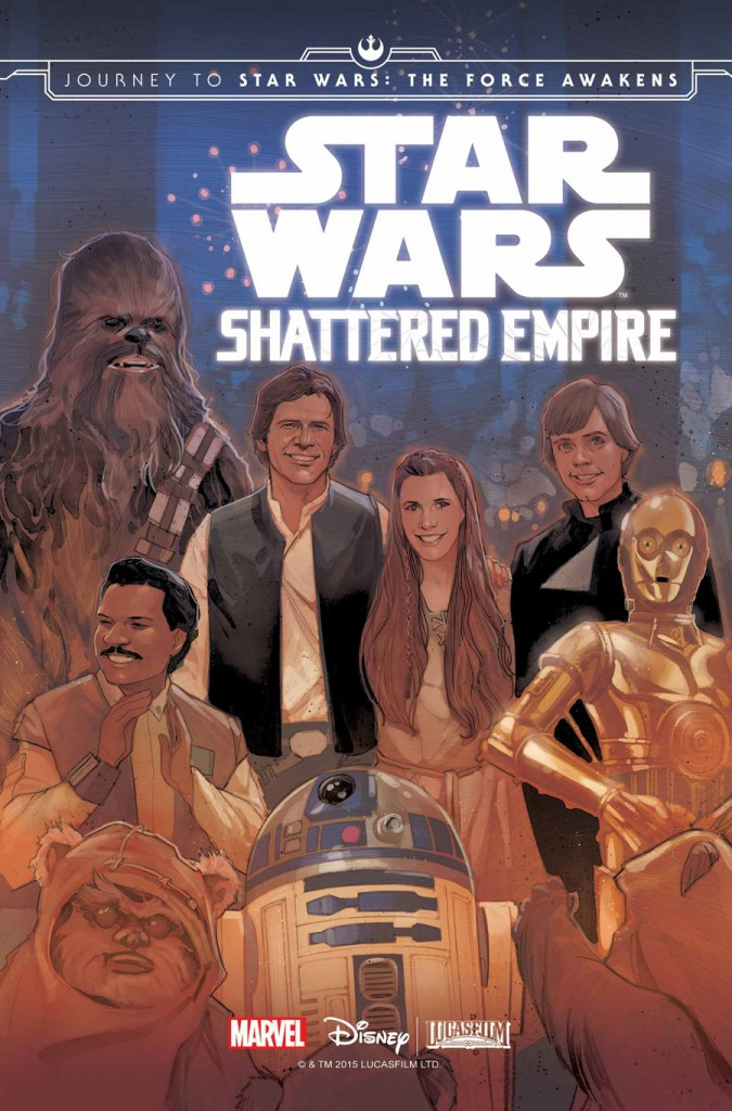 HQ do Dia   Star Wars - Shattered Empire #1