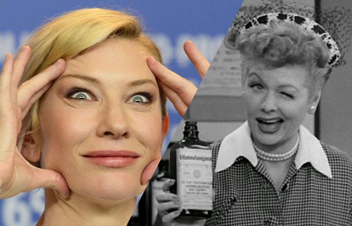 Cate Blanchett será Lucille Ball!