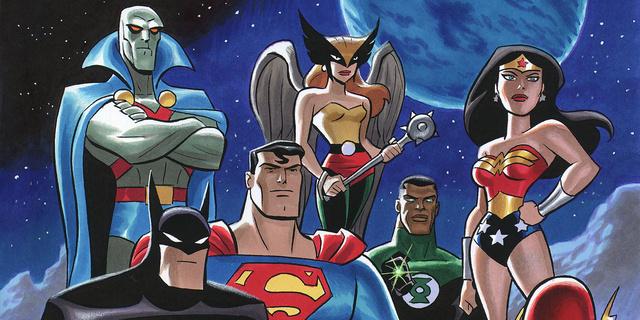Estaria a WB Animation trabalhando em uma nova série animada da Liga da Justiça?