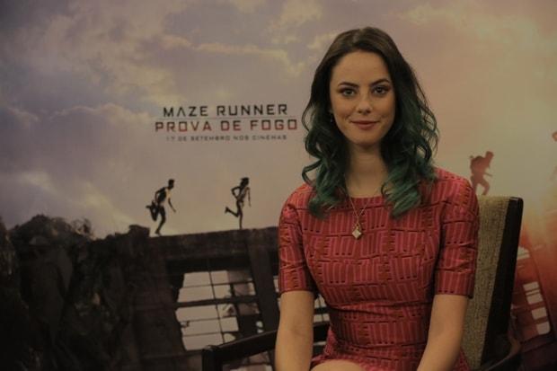 Kaya Scodelario fala sobre sua personagem em Maze Runner: Prova de Fogo