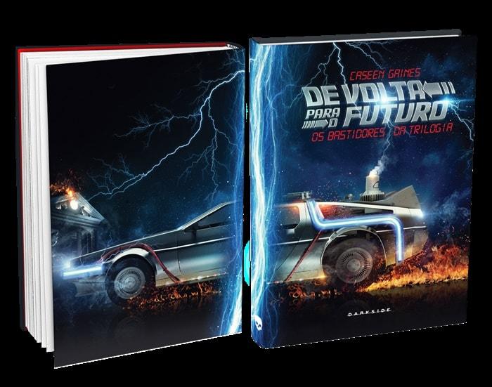 """Livro sobre os bastidores de """"De Volta Para o Futuro"""" será lançado pela DarkSide® Books"""