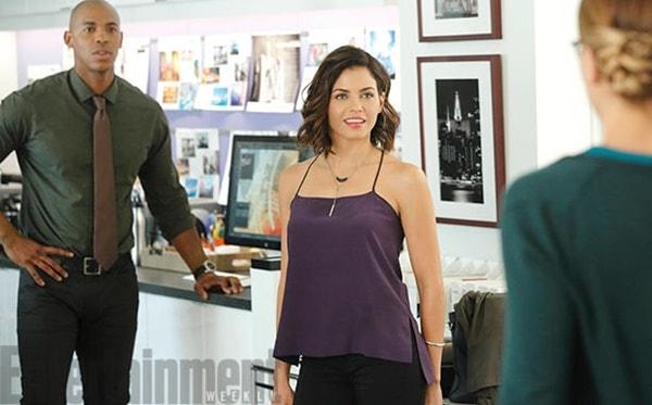 Supergirl   Primeira imagem da personagem Lucy Lane