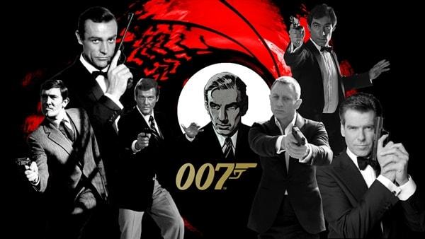 Vídeo compila todas as aberturas da franquia 007
