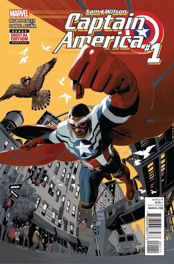 HQ do Dia Captain America Sam Wilson #1