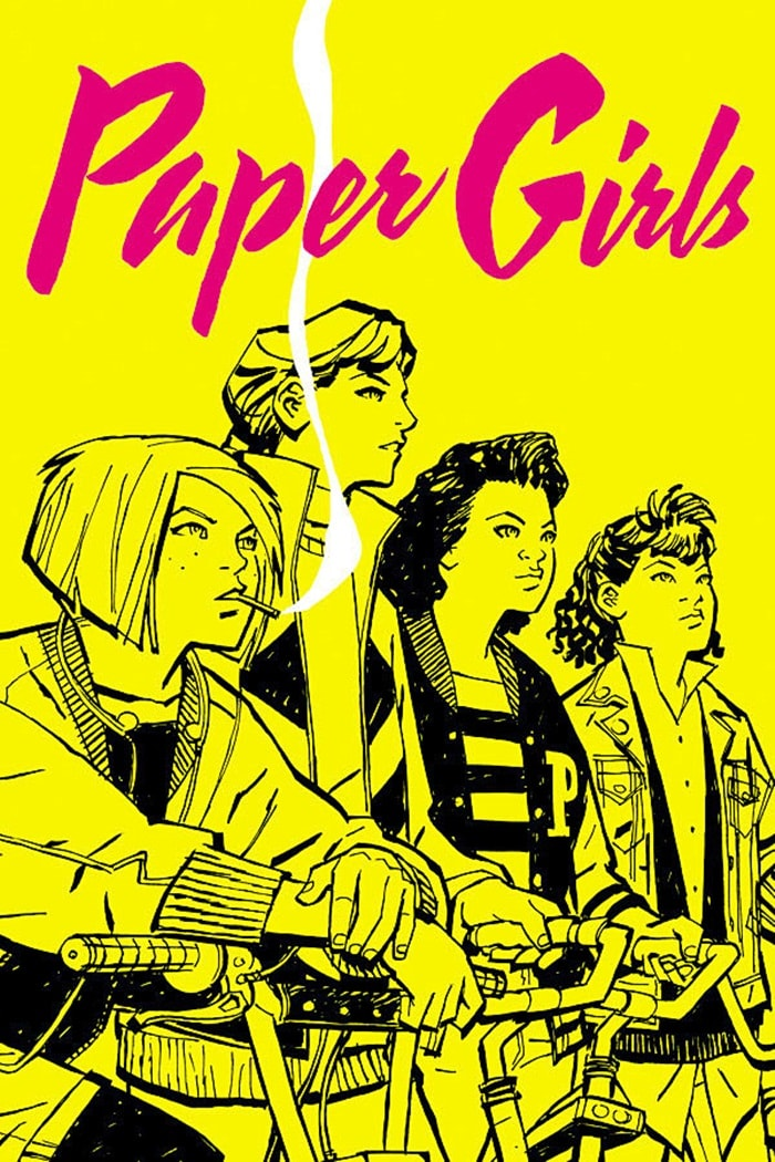 HQ do Dia  Paper Girls #1