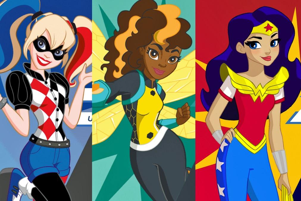 Dc superhero girls disponibilizado primeiro curta de anima o - Image de super hero ...