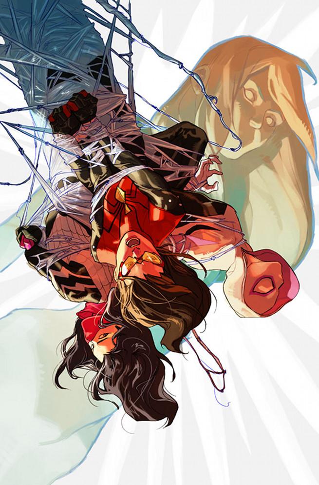 """NYCC 2015 - Marvel Comics   Anunciado crossover """"Spider-Women"""""""