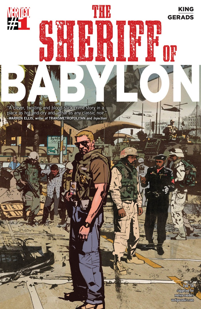 HQ do Dia  Sheriff of Babylon #1