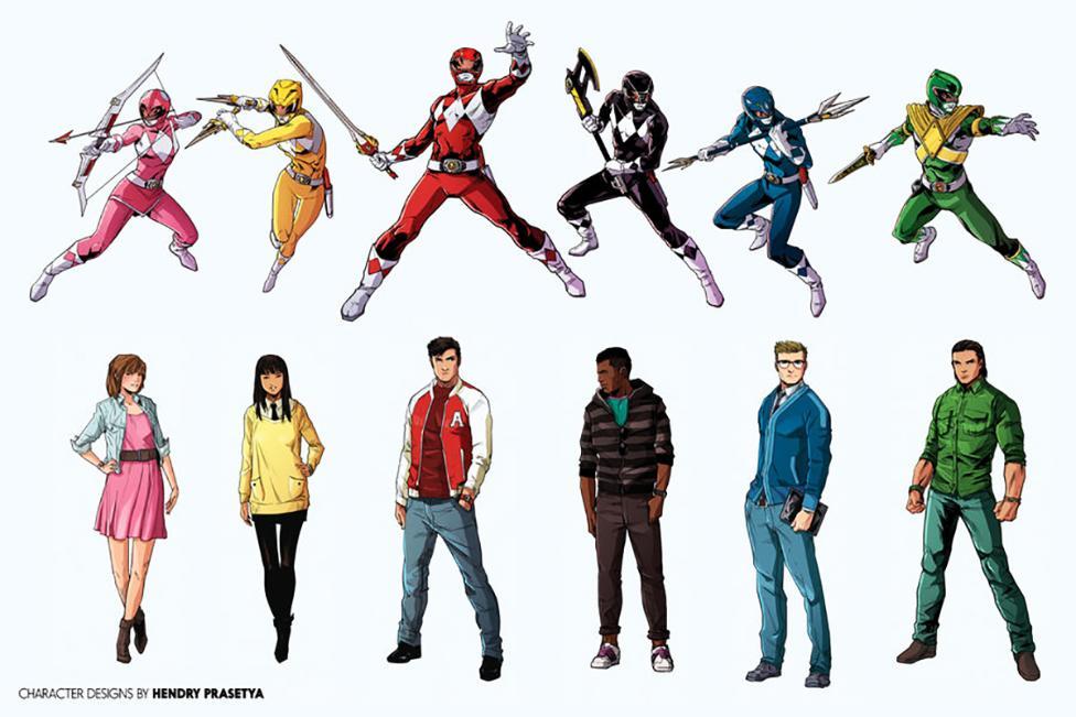 Power Rangers | BOOM! Studios revela os novos designers visuais