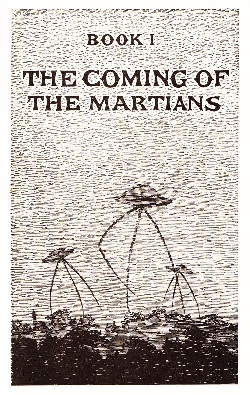 Redescoberta edição dos anos 60 de A Guerra dos Mundos com ilustrações incríveis! (1)