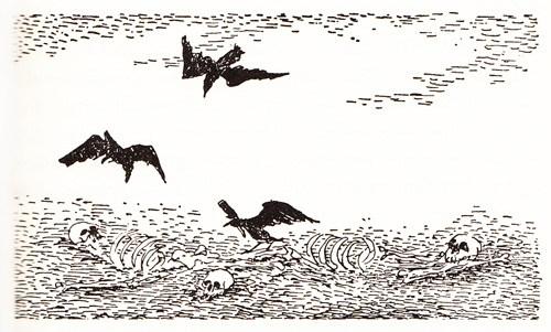 Redescoberta edição dos anos 60 de A Guerra dos Mundos com ilustrações incríveis! (11)