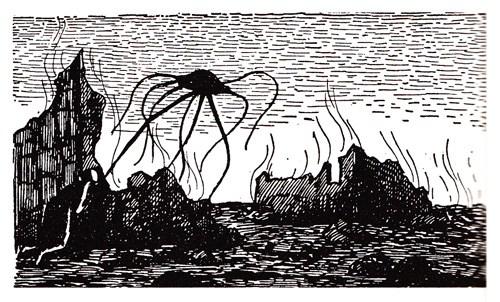 Redescoberta edição dos anos 60 de A Guerra dos Mundos com ilustrações incríveis! (7)