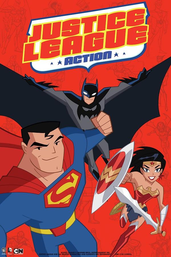 Justice League: Action | Anunciada nova série animada da Liga da Justiça