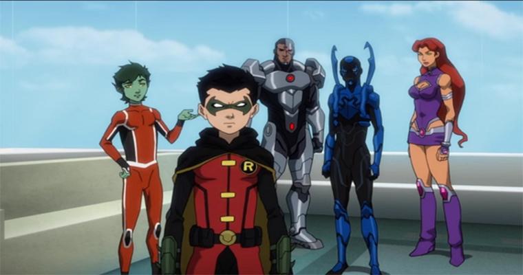 Justice League vs. Teen Titans | Longa animado ganha seu primeiro trailer