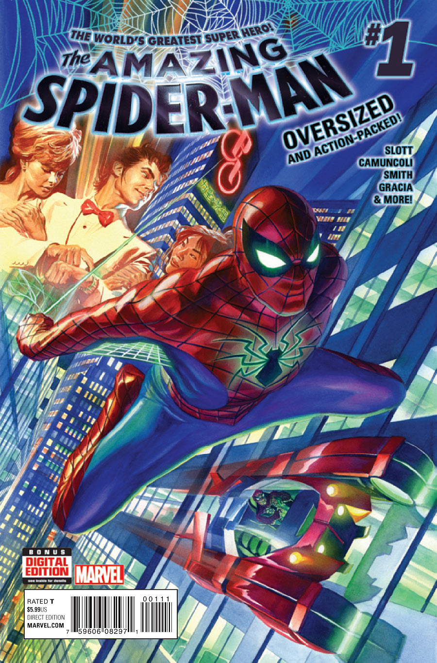 HQ do Dia The Amazing Spider-Man 1-5 1