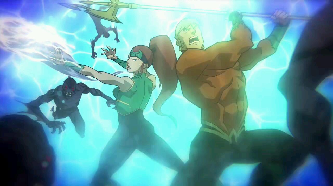 Liga da Justiça: O Trono de Atlantis (2015) | A ascensão de um poderoso herói