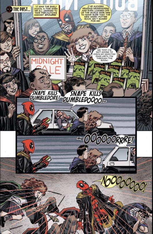 Marvel Comics   Deadpool é um Hufflepuff!