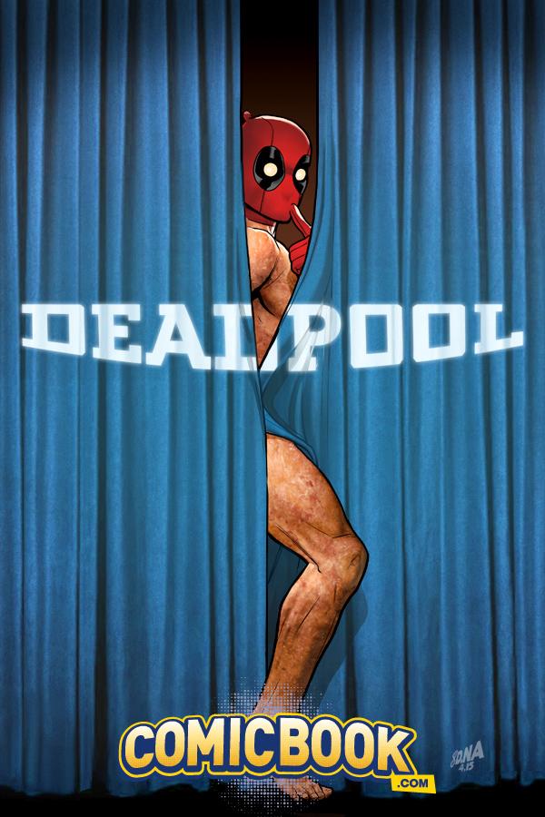 Deadpool | Capa variante paródia nova fase da DC Comics