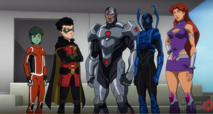 Liga da Justiça vs. Jovens Titãs (2016) | Uma animação de visão contrastada entre ação e diversão