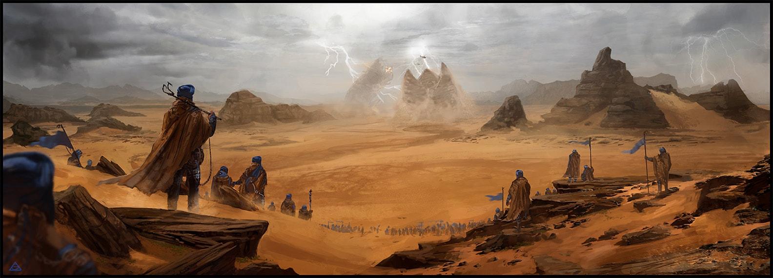 Resenha - Duna | Política, geopolítica, religião, guerra e muita areia (SEM SPOILERS!)