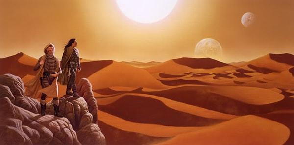 Resenha - Duna Política, geopolítica, religião, guerra e muita areia (9)