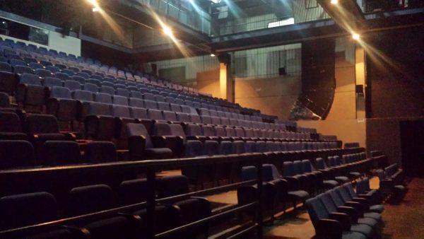 Sala do Cine Meninos que com 450 lugares