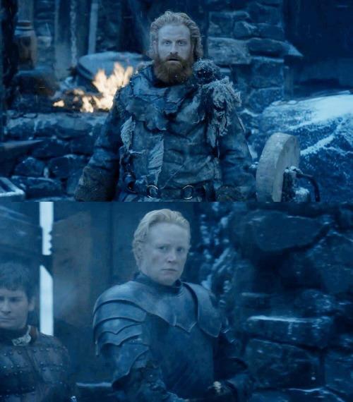 Gwendoline Christie fala sobre o possível relacionamento de Brienne e Tormund