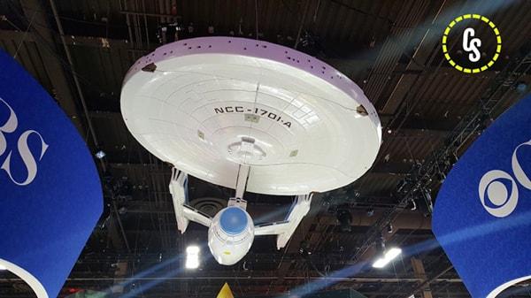 Liberada foto de como será a Enterprise da nova série da CBS de Star Trek (1)