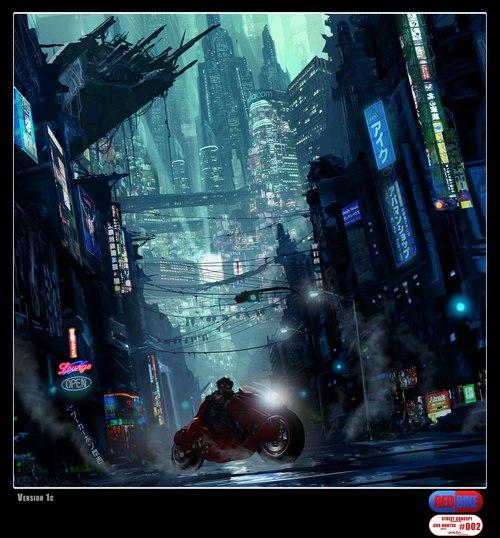Akira | Divulgadas diversas artes conceituais para o filme!