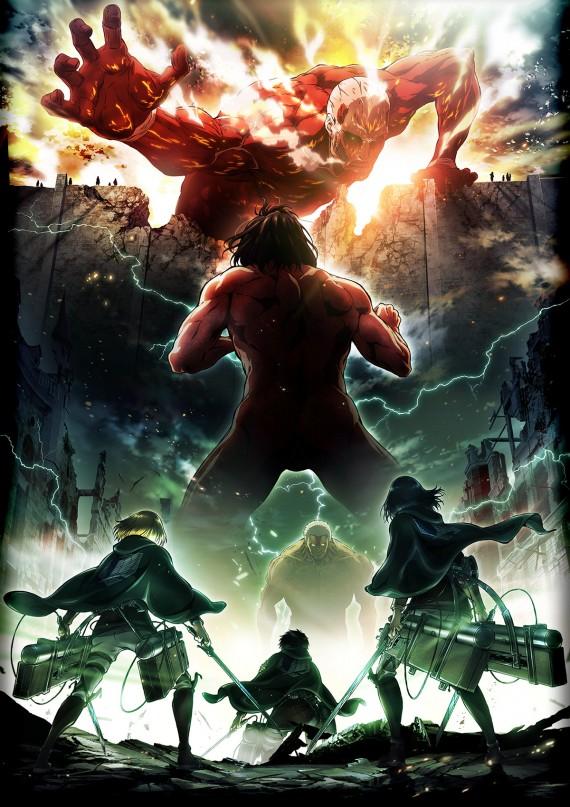 Ataque dos Titãs   Anunciada a data de lançamento da segunda temporada!