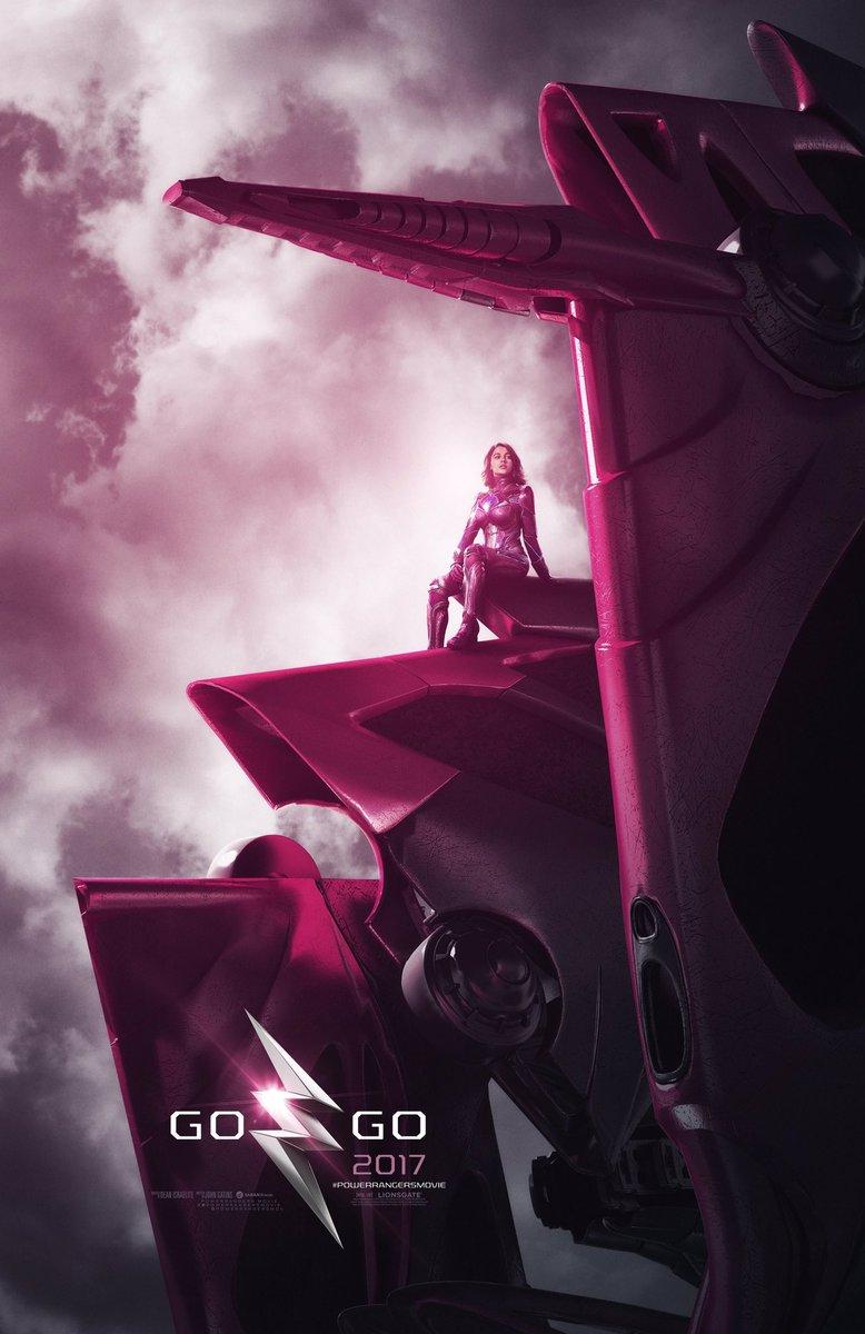 Power Rangers | Zords destacam novos pôsteres para o longa!