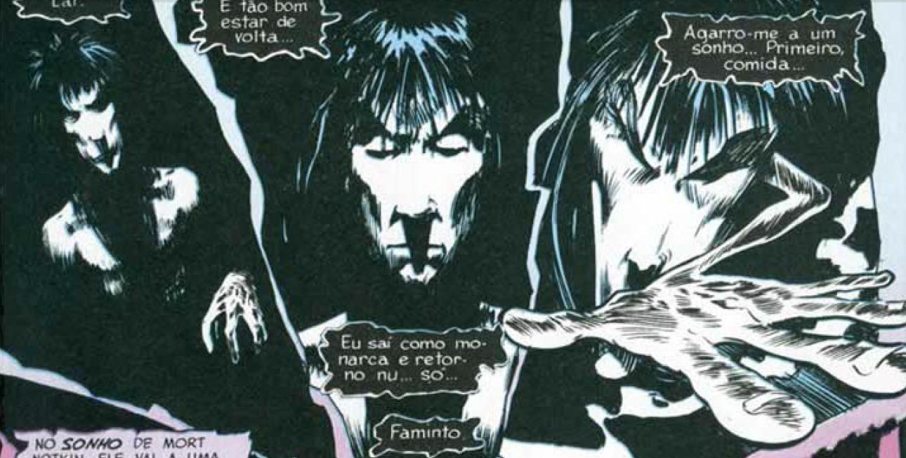 HQ do Dia | Sandman - Edição Definitiva Vol.01