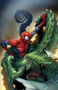 Lagarto vs Homem Aranha