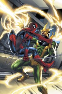 Electro vs Homem Aranha