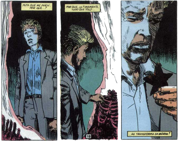 HQ do Dia | Hellblazer — Origens Vol.2: Triângulos Infernais