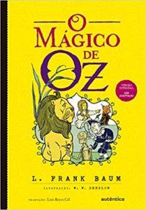 O Mágico de Oz (Português) Capa comum