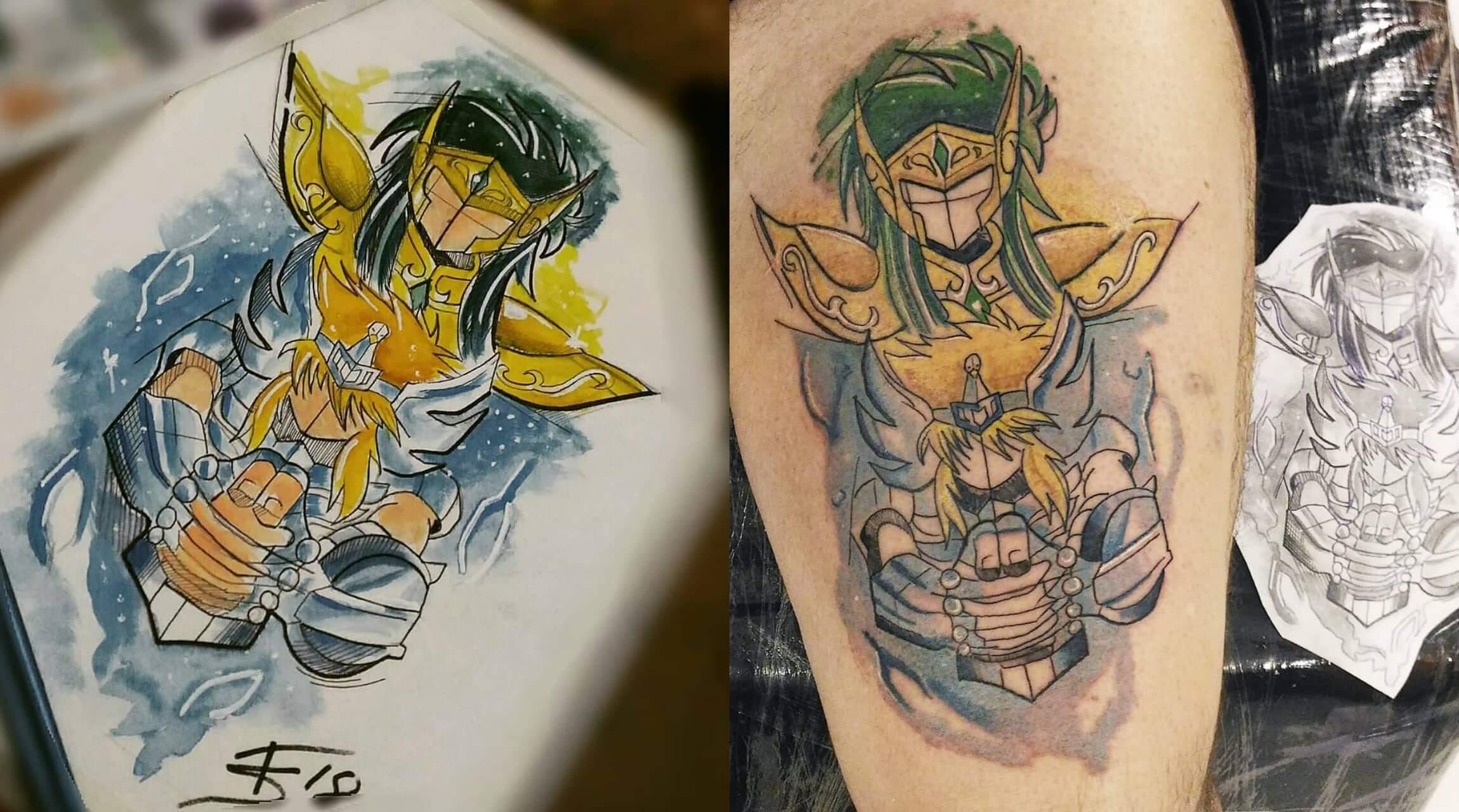 Cavaleiros do Zodíaco | A paixão que incentivou um dos maiores tatuadores do País