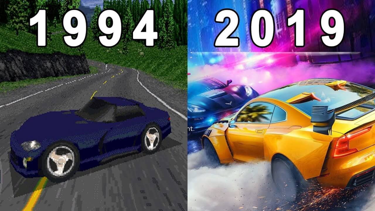 Need For Speed | A evolução do game de 1994 a 2019