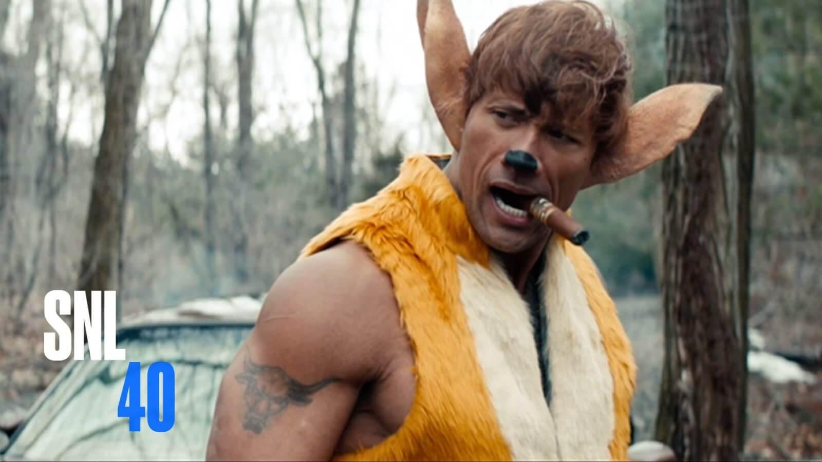 'The Rock' em um live action de Bambi da Disney