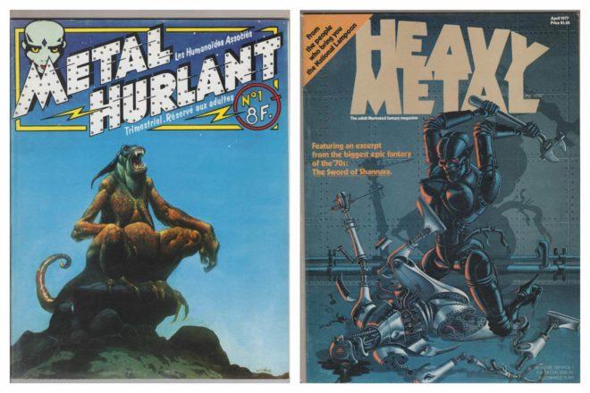 Heavy Metal Magazine | O universo e fantasia da maior revista ilustrada do mundo