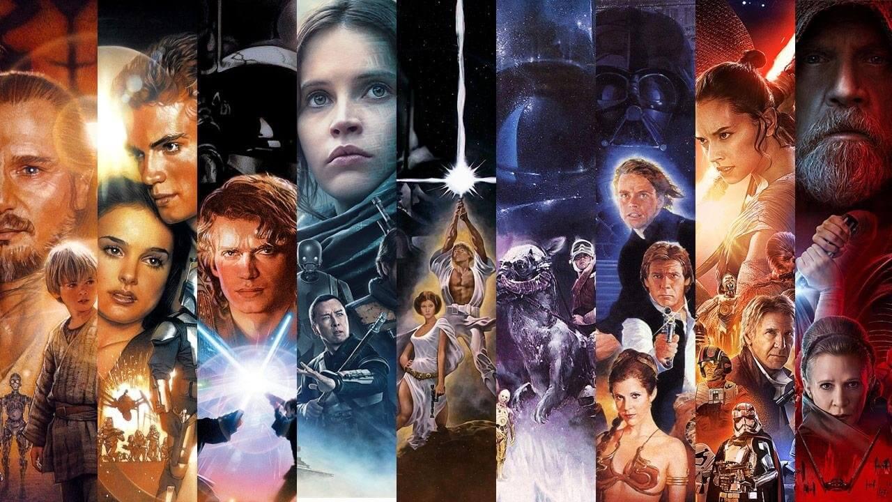 Filmes de Star Wars   Lista com a ordem certa para assistir à saga