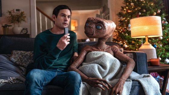 O reencontro de E.T e Elliot após 37 anos