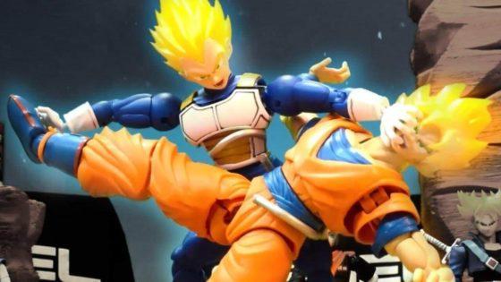 A batalha entre Goku e Vegeta de um jeito que você nunca viu