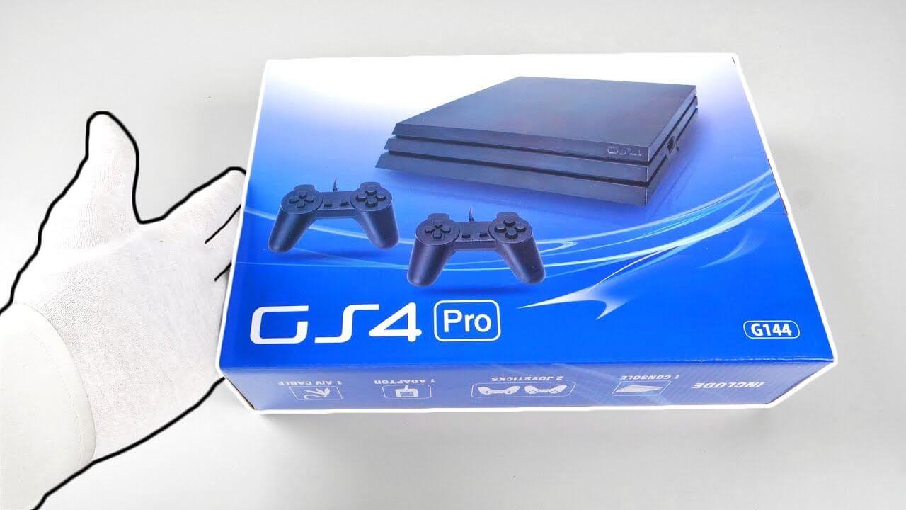 Conheça o 'PS4 Pro' que custa apenas 25 dólares