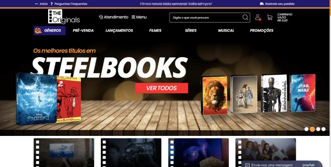 As melhores lojas online para comprar blu-rays e DVDs